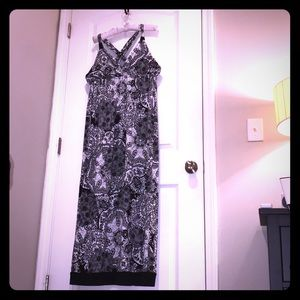 AGB Paisley Maxi Dress